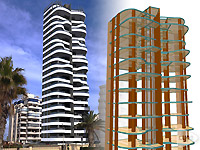 22-storey building in Calpe Alicante.