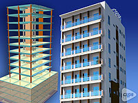 Torre Techo Alto. 15 storey residential building. Santo Domingo (Dominican Republic)