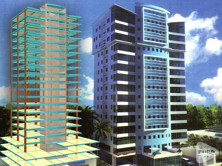 Torre Atlantic. 22 storey residential building. Santo Domingo (Dominican Republic)