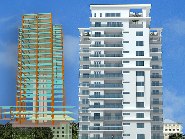 Torre Sarasota. 15 storey residential  building. Santo Domingo (Dominican Republic)