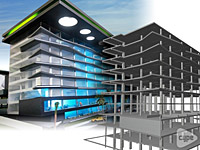 Proyecto Urubó Business Center en Santa Cruz de la Sierra, Bolivia.